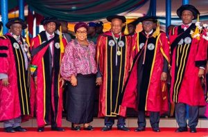 Cross section of Dignitaries at Lapotech 27th Convocatiion 2020